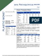 080806 - Flash News Petroquímica - Suzano Petroquímica - Outro Trimestre Difícil