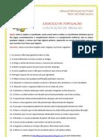 Pontuação - exerc. vírgulas (blog8 10-11)