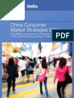 China Consumer Market Strategies 2011 2