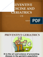 Preventive Medicine and Geriatrics