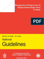 Adult Guidelines for the Management of DF and DHF in Adults