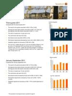 Swedbank's Interim Report Q3 2011