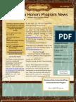 October 24 Honors Newsletter