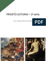 taxonomia da arte 1ª serie_ PROJETO LEITURAS