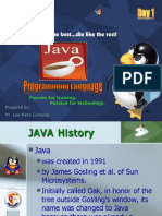 JAVA Programming (for Ejist Students Only)