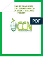 SAVING INDONESIAN TROPICAL RAINFORESTS