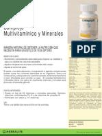 Hoja Formula 2 Multivitanico