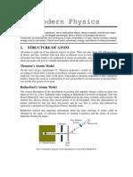 Modern Physics for IITJEE