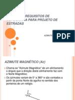 Principais Requisitos de Topografia Para Projeto de Estradas