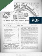 Bible Standard  April 1881