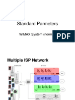 Standard Parameters for Wimax System