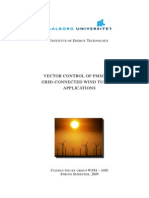 Vector Control of Pmsg for Grid Connected Wind Turbine Applications_aalborg