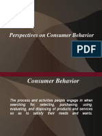 Consumer Beh.