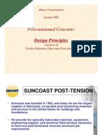 Post Tension Ing Design