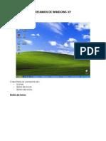 Resumen Windows Xp