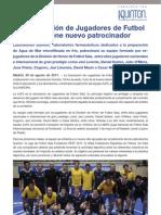 Laboratorios Quinton, nuevo patrocinador de la AJFS