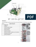 System Unit Worksheet