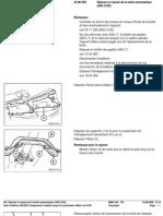 RA Dépose Et Repose de La Boîte que (A5S 310Z)