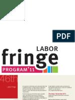 Fringe Program for ALP National Conference