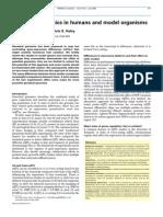 Genetical genomics in humans model organisms 2005