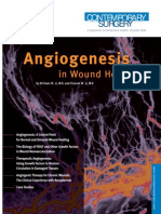 Angiogenesis With Wound Healing