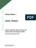 Rural Finance