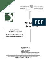 Liburuska osorik 2011-12