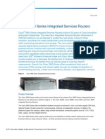 Data_sheet_Cisco 3900 Series Integrated Services Routers