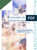 Contenido Curso de Acuarela Alcaudete 2011