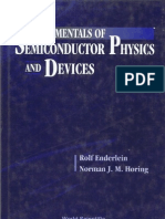 Rolf & Norman Fundamentals of Semiconductor Physics and Devices