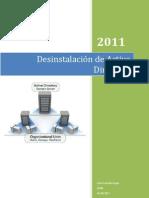 Desinstalación de Active Directory