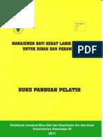 Buku Panduan Pelatih 23 Mei 2011