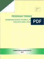 Pedoman Teknis Vit k1 Final 2011