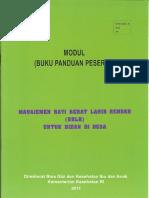 Buku Panduan Peserta  2011
