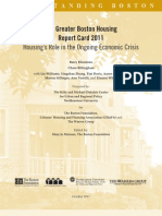 The Greater Boston Housing Report Card 2011