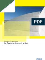 67. Gros oeuvre et applications. Le Système de construction (Béton Cellulaire)
