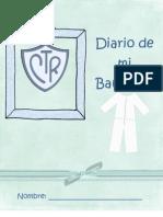 Diario de mi bautismo para niños (by MJo)