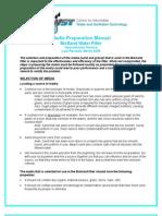 Appendices to Manual > F - Media Preparation Manual