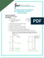 Appendices to Manual > G (2) - 330 Lb Concrete Filter Construction Manual