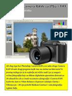 Photoshop Camera RAW Za JPEG i TIFF