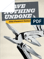 2011 LeatherMan Product Catalog