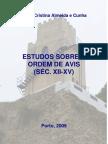 ESTUDOS SOBRE A ORDEM DE AVIS (SÉC. XII-XV)