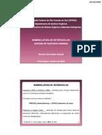 Nomenclatura de Heterociclos - Regras de Hantzsch-Widman