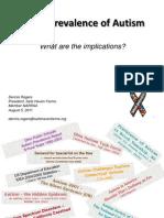 Autism Prevalence Presentation 08.05.11