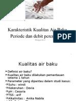 Karakteristik Kualitas Air Baku (PBPAM-2)