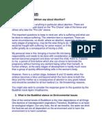 FAQ of Buddism