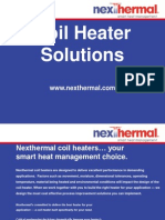 Coil Heaters – Technical Specifications, Types of Coil Heaters and their Applications
