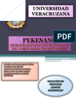 PEKESANO-Programa
