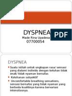 DYSPNEA