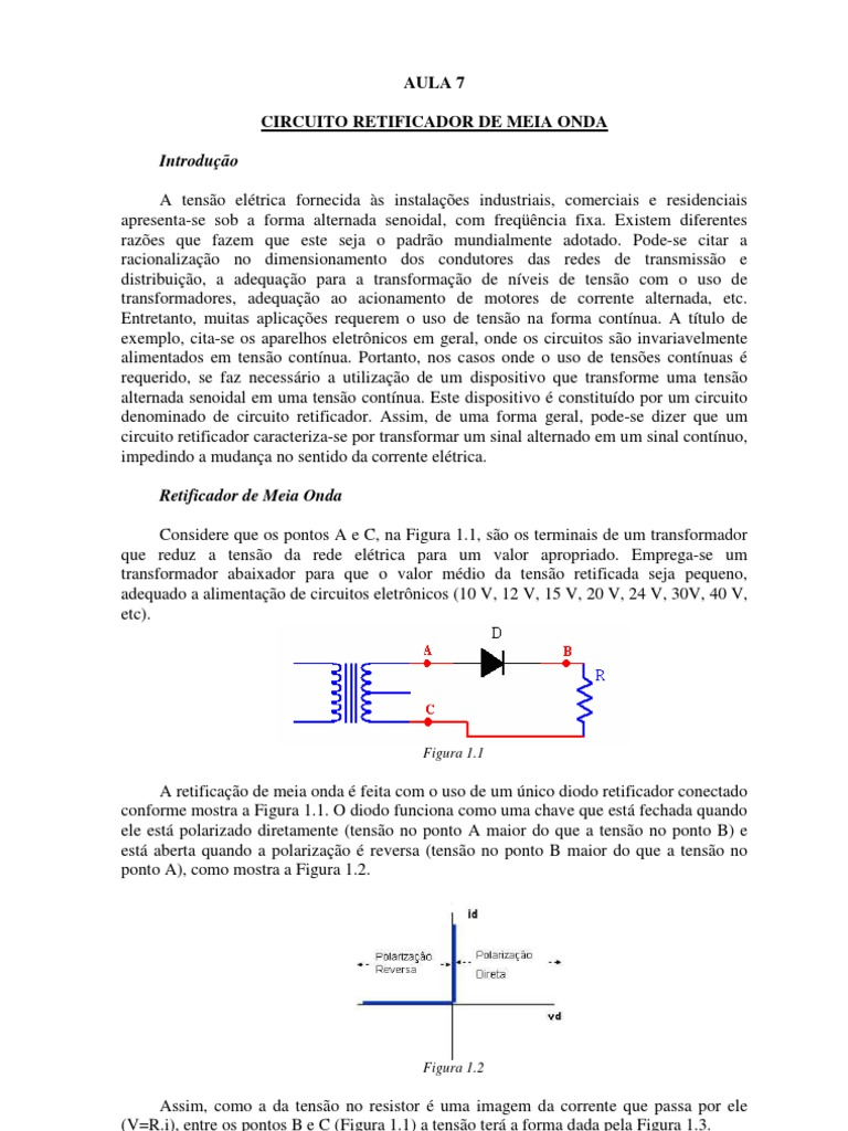 Circuito Onda : Circuitos recortadores de onda docx